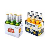 Stella Artois + Corona